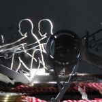 Metallschnitt Profil Ergometersportler